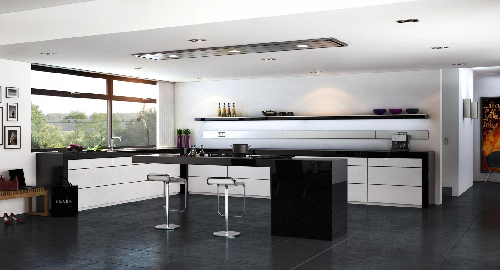 Carbon Fiber Kitchen Cabinets - Kitchen Design Ideas